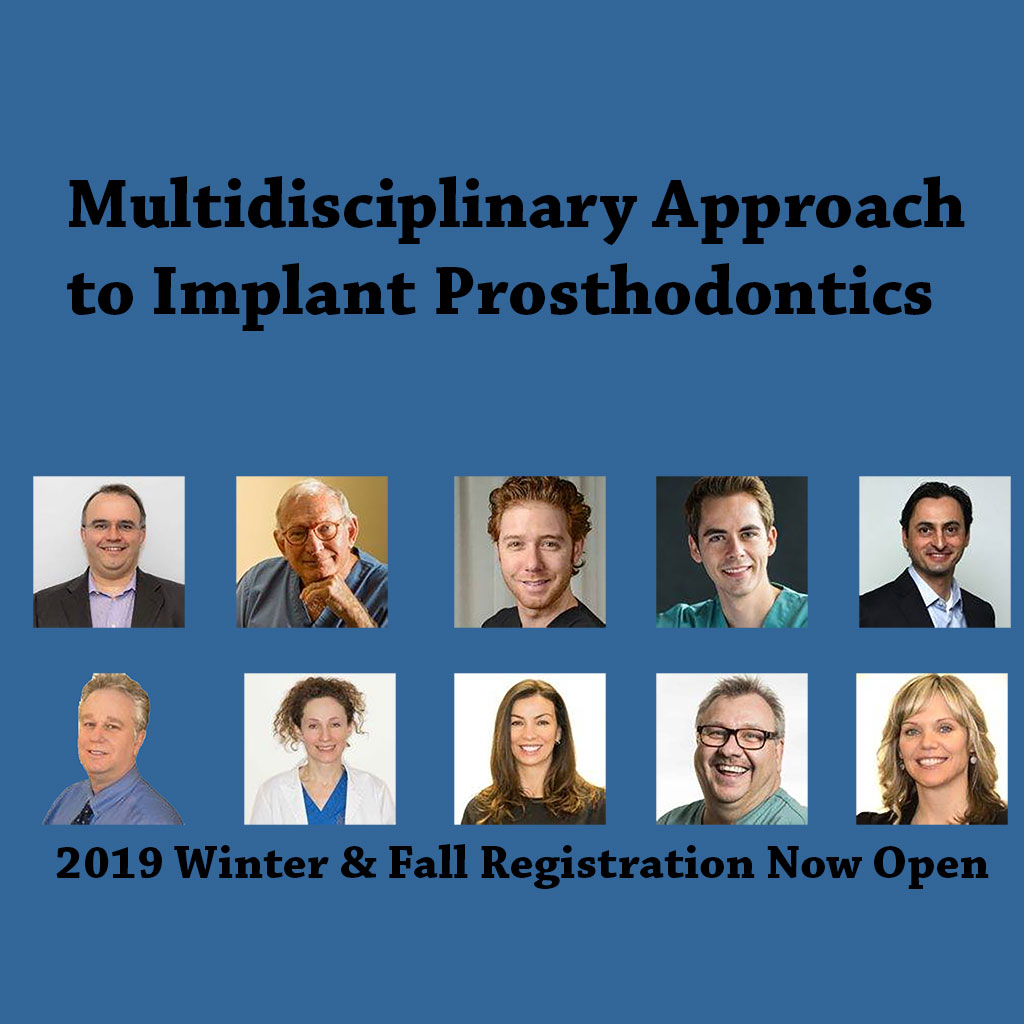 MULTIDISCIPLINARY APPROACH TO IMPLANT PROSTHODONTICS Fall